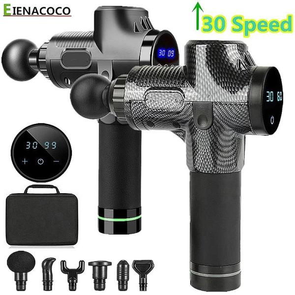 Buy NEW 30 speed Muscle Massage Gun Sport Therapy Massager Muscle Relax Body Relaxation Fascia Gun Booster Slimming Shaping Electric Massager【Special offer】 Singapore