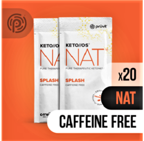 Buy Prüvit KETO//OS® NAT™ Splash (caffeine free) Singapore
