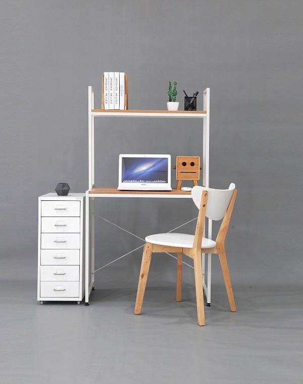 Study Table -Premium Storage Design+Shelf- ST04A