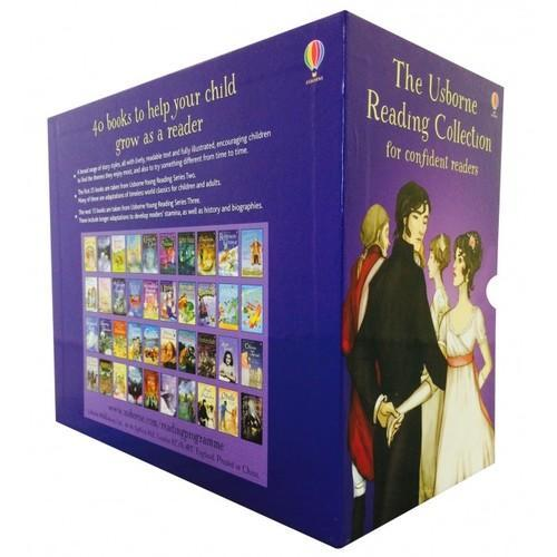 The Usborne Reading Collection for Confident Readers - My Fourth Reading Library - 40 Books