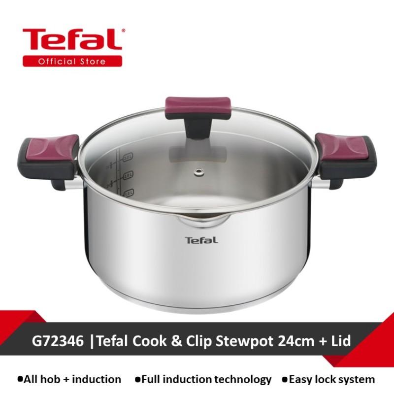 Tefal Cook & Clip Stewpot 24cm + Lid G72346 Singapore
