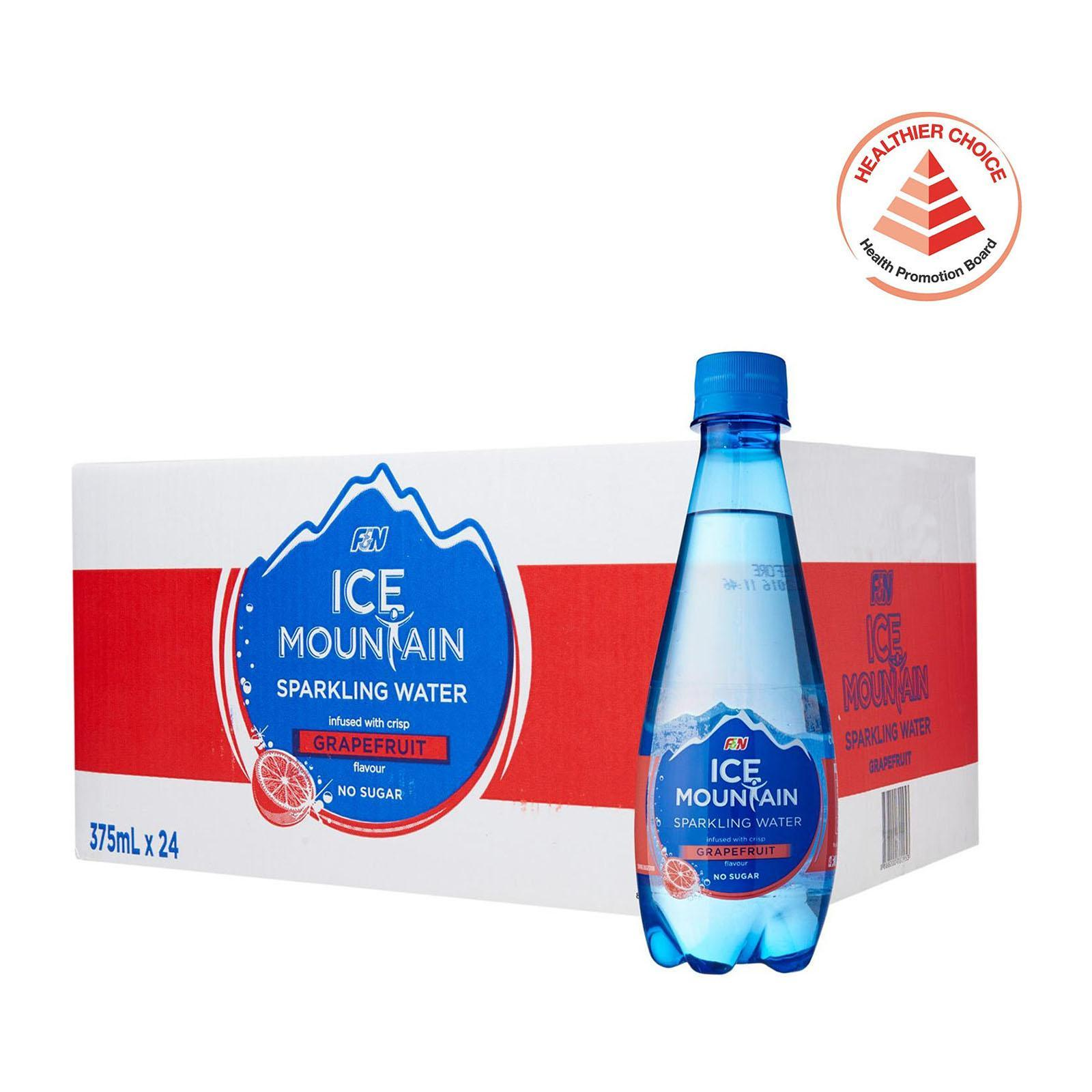 F&N Ice Mountain Sparkling Grapefruit - Case