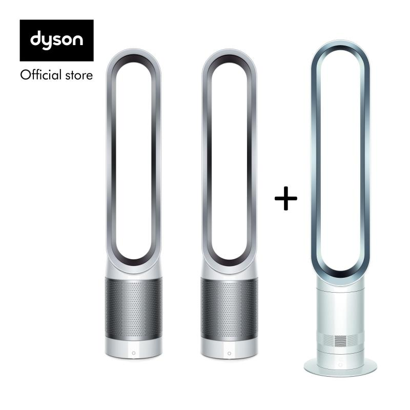 Dyson 2x TP00 White Silver with AM07 White Silver worth $499 Singapore