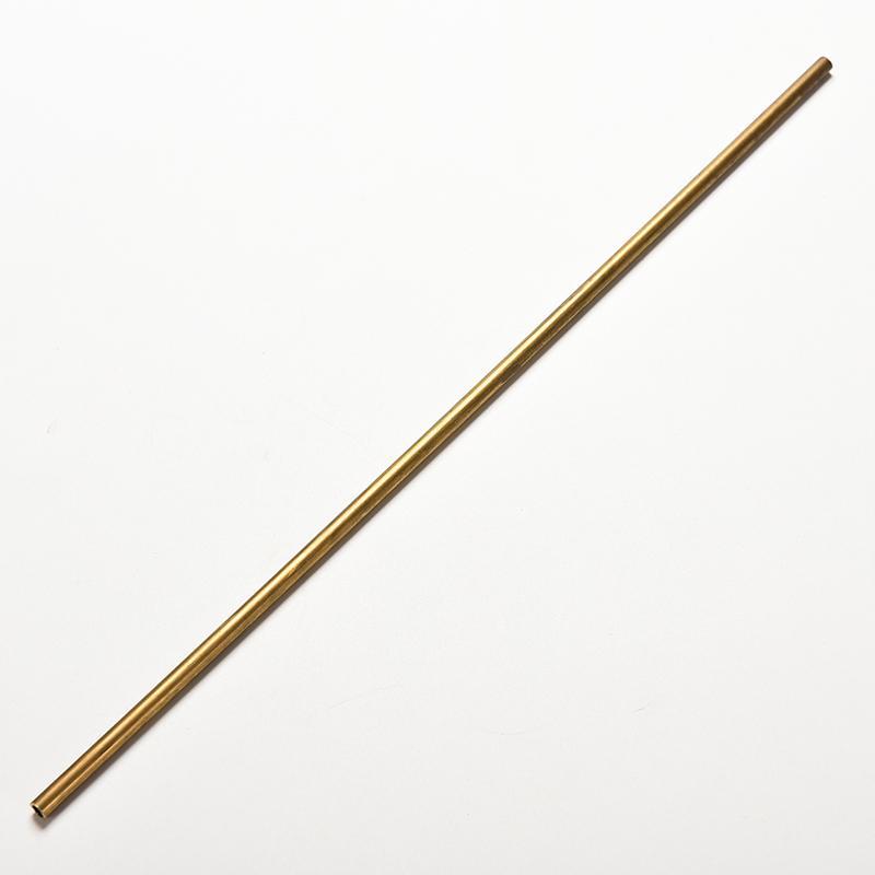 Coupon Ưu Đãi Brass Tube Pipe Tubing Round Inner 2mm 3mm 4mm 5mm Long 300mm Wall 0.5mm