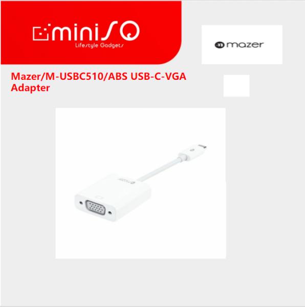 Mazer/M-USBC510/ABS USB-C-VGA Adapter