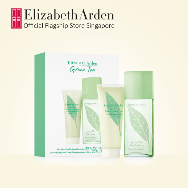 Buy Elizabeth Arden Green Tea Refreshing Fragrance and Perfumed Body Lotion 2pc Gift Set: EDT 100ml, Body Lotion 100ml Singapore