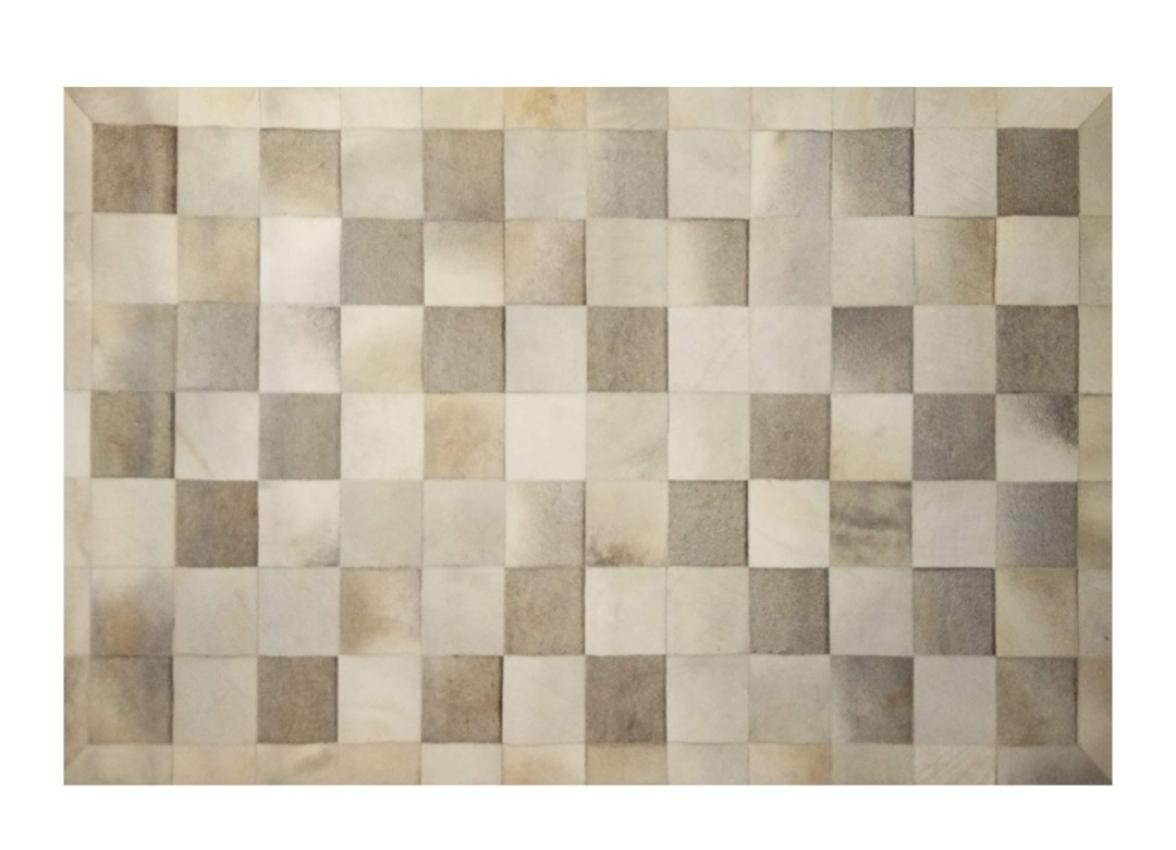CP 122 Cowhide Leather Rug