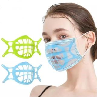 Bán Chạy 1 Cái 10 Cái Khung Khẩu Trang Thở 3D Tái Sử Dụng Son Môi Bảo Vệ Masker, Đệm Đỡ Bên Trong Giá Đỡ Tăng Cường Chống Ngột Ngạt Đệm Trong Giá Đỡ An Toàn Cho Mũi thumbnail