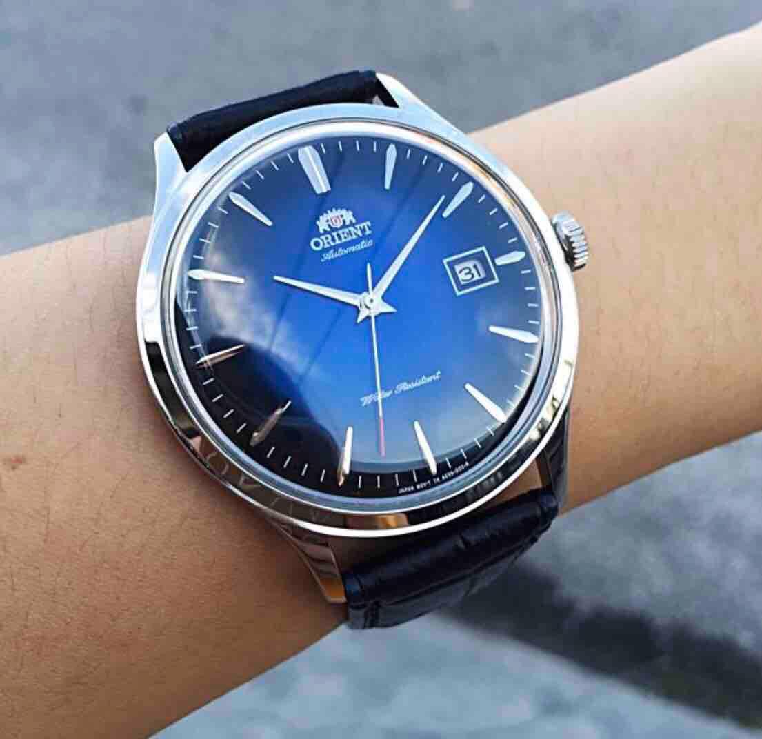 BNIB Orient Bambino Version 4 Classic Automatic FAC08004D0 AC08004D Men's Watch