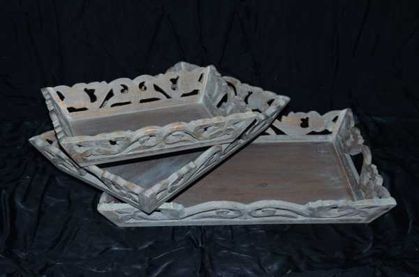 Barry_Wooden Tray Set of 3