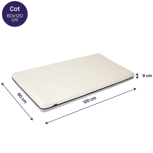 Clevamama - Support Mattress, Increased Airflow 60x120 (3113)