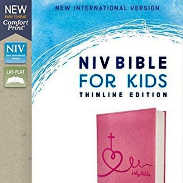 NIV Bible for Kids(Ages 8-12) THINLINE Edition, PINK Leathersoft in Comfort Print: 2008.