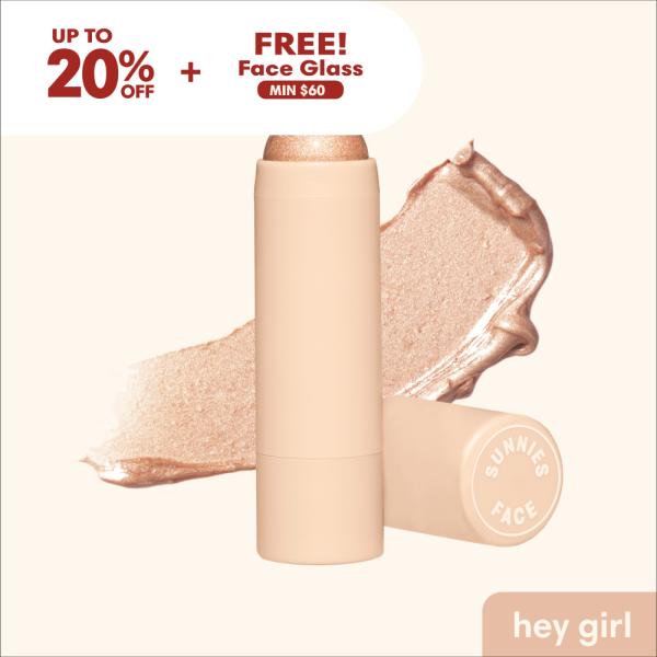 Buy Sunnies Face Glowboss [Cream-to-Powder Highlighter] Singapore