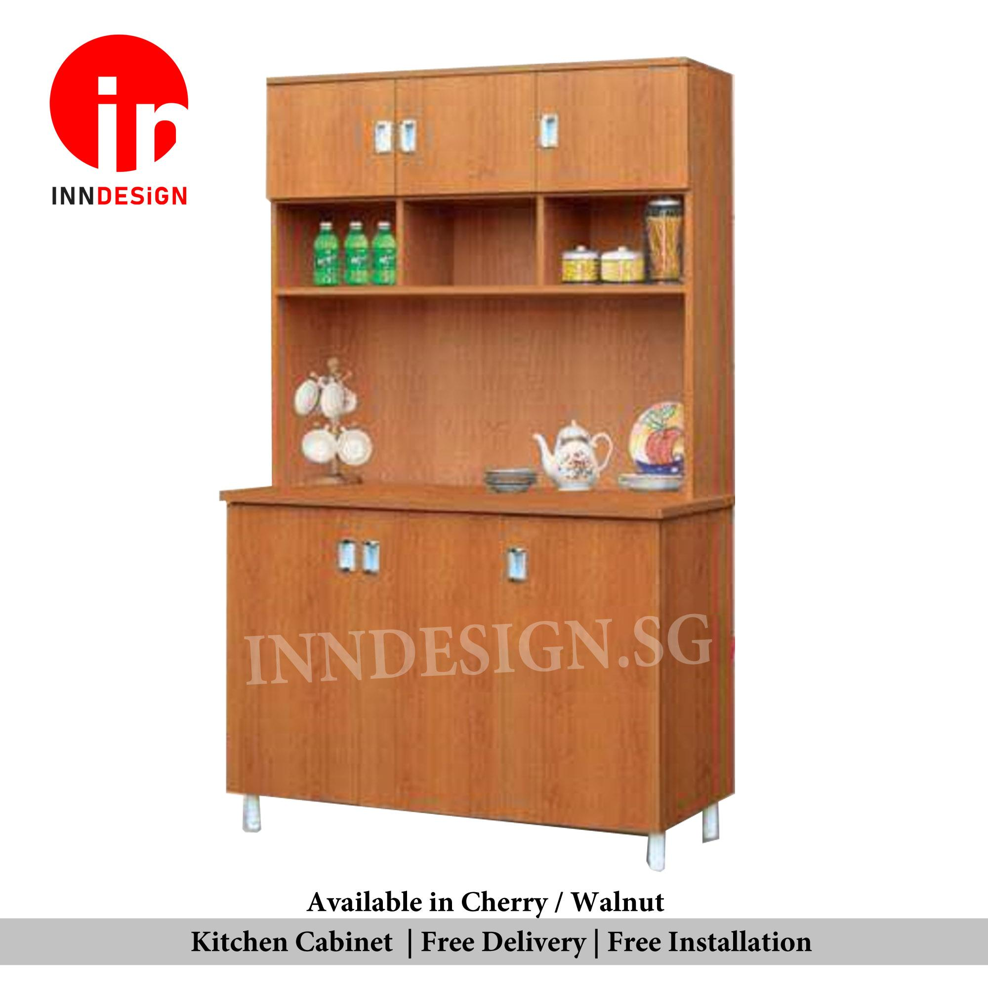 Samuel 4ft Solid Plywood Kitchen Cabinet (Free Delivery and Installation) (Delivery Within 1 Working Day)