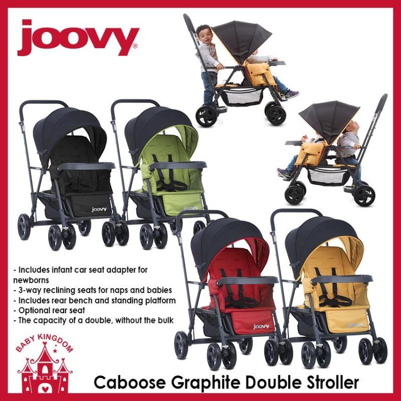 Joovy Caboose Graphite Double Stroller Singapore