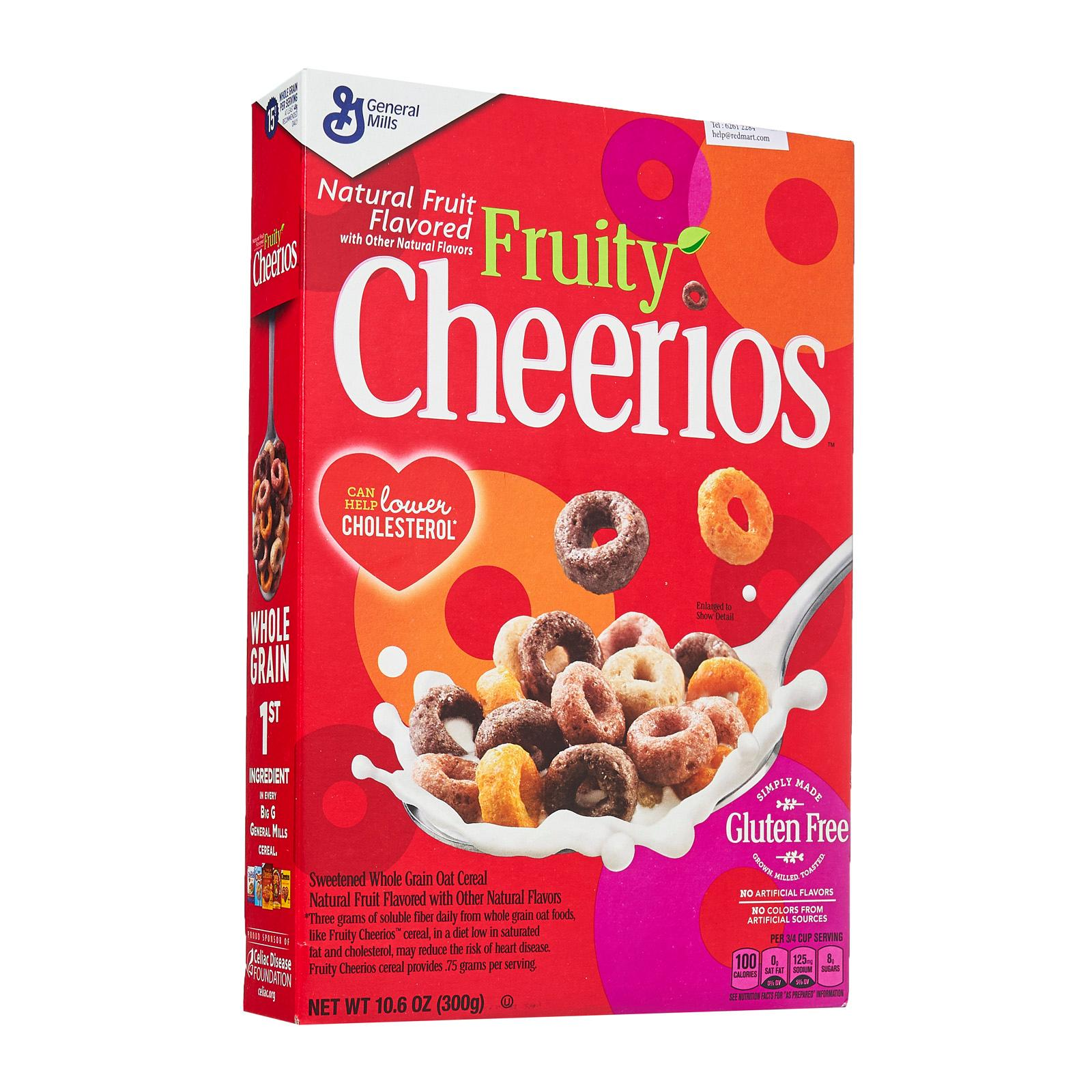 Gluten Free Fruity Cheerios Cereal