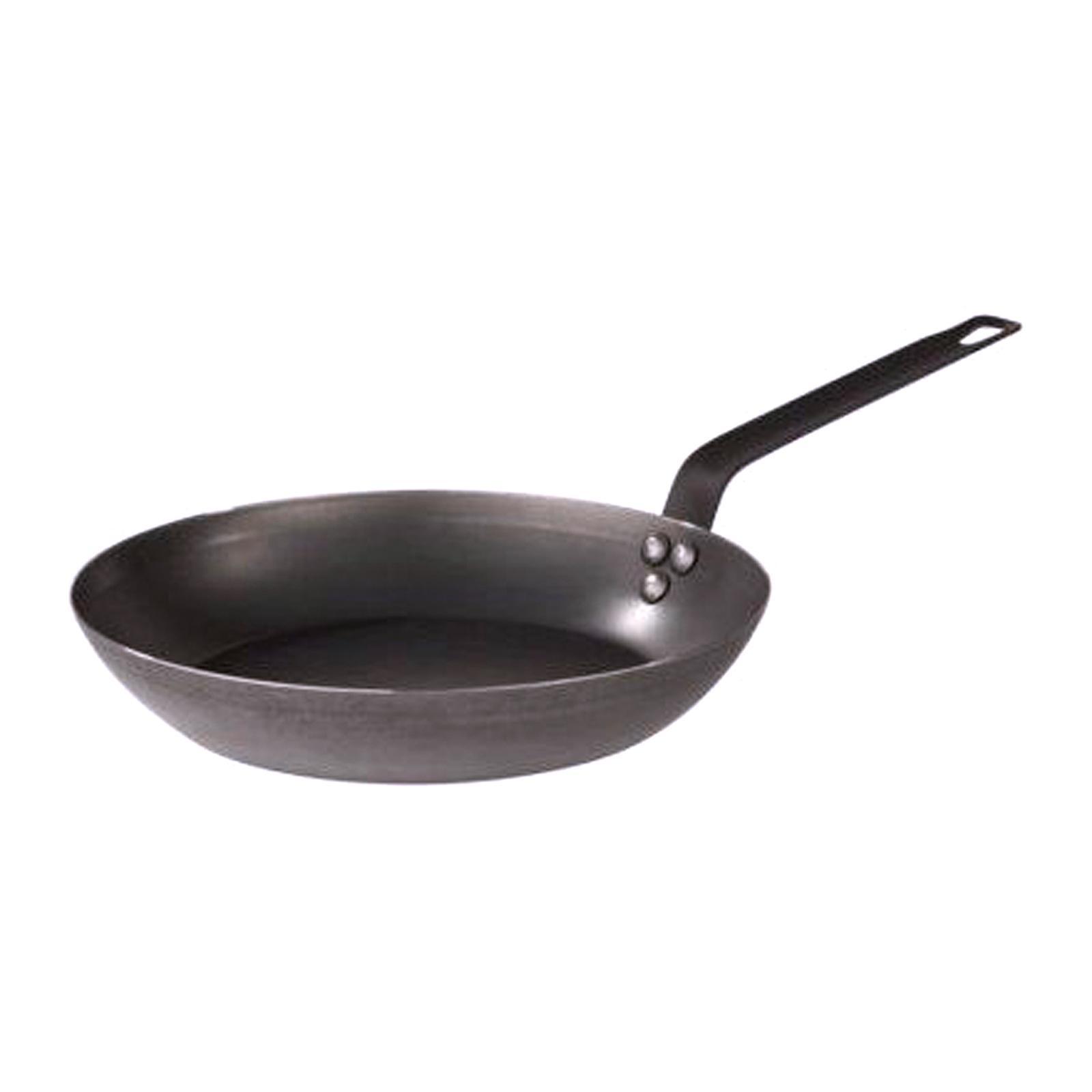 Pujadas Carbon Steel Lyonnaise Fry Pan 24Cm