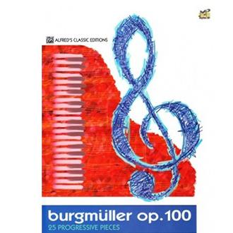 Alfred Classic Editions - Burgmüller Op. 100 – 25 Progressive Pieces - Alfred's Classic Editions - Music Book - Piano Book - Burgmuller Opus 100