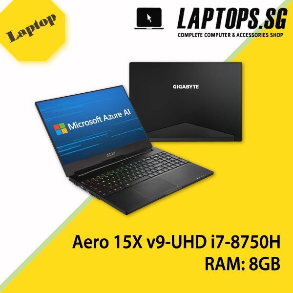 Gigabyte Aero 15X v9 UHD 15.6 In i7-8750H RTX 2070 GDDR6 8GB Win10Pro (2Y Warranty)