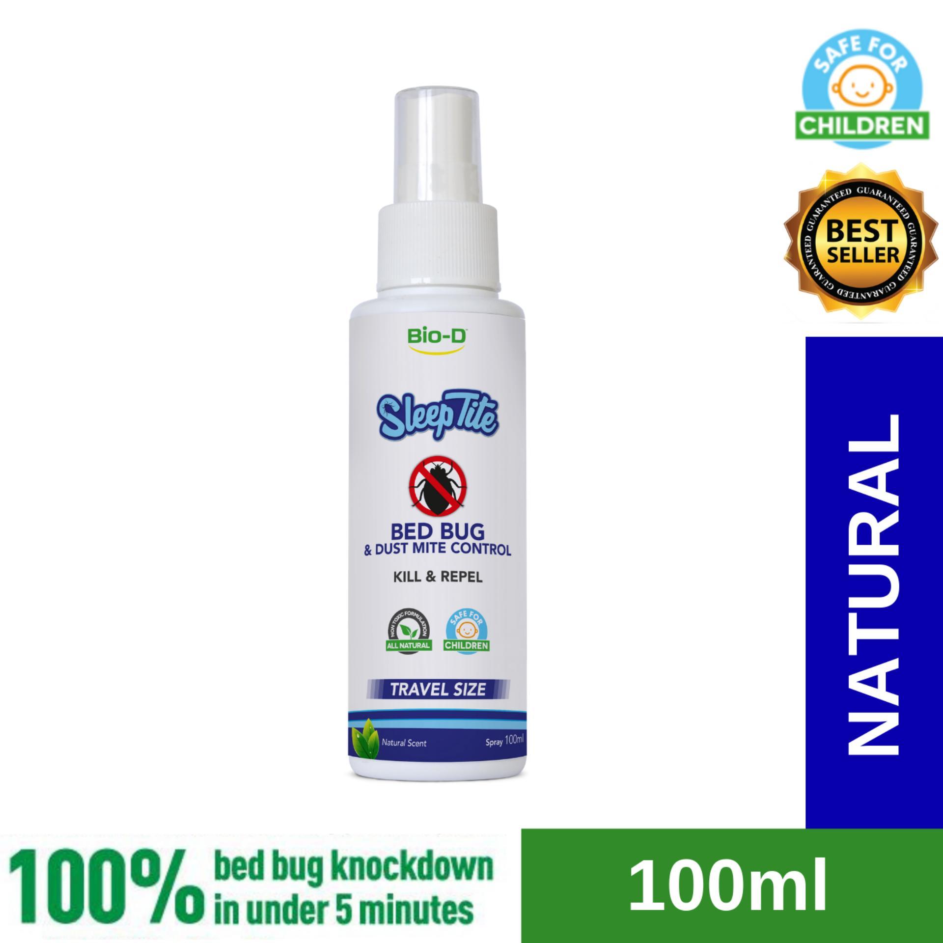 Bio-D SleepTite Bed Bug & Dust Mite Control Spray 100ml (Natural)