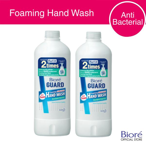 Buy Biore Guard Antibacterial Foaming Hand Wash Refill 450ml (Set of 2) Singapore