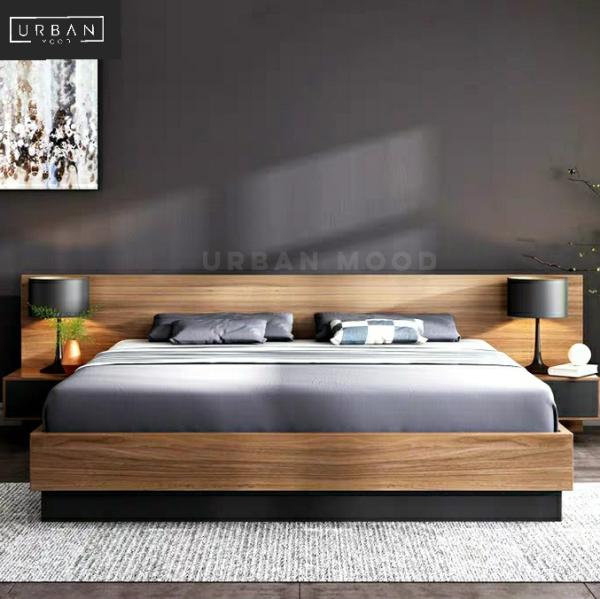 [Pre-Order] TRENTON Rustic Bedframe