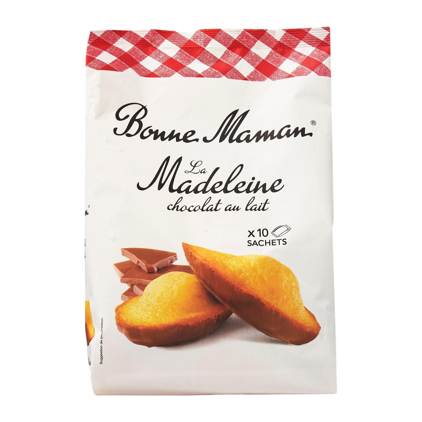 Bonne Maman Chocolat Au Lait - Milk Chocolate Madeleines By Redmart.