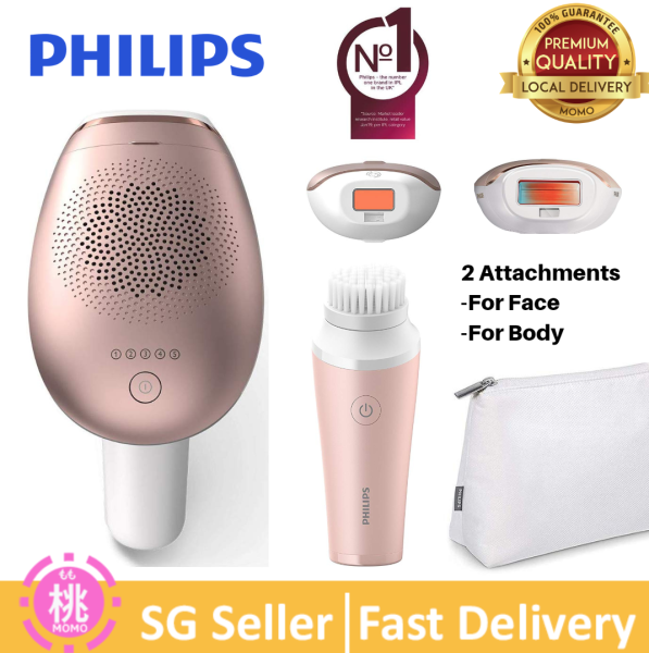 Buy Philips Lumea Advanced SC1997 IPL Hair Removal Device with 2 Attachments for Face and Body with Facial Hair Trimmer (SG 3 Pin Plug) Singapore