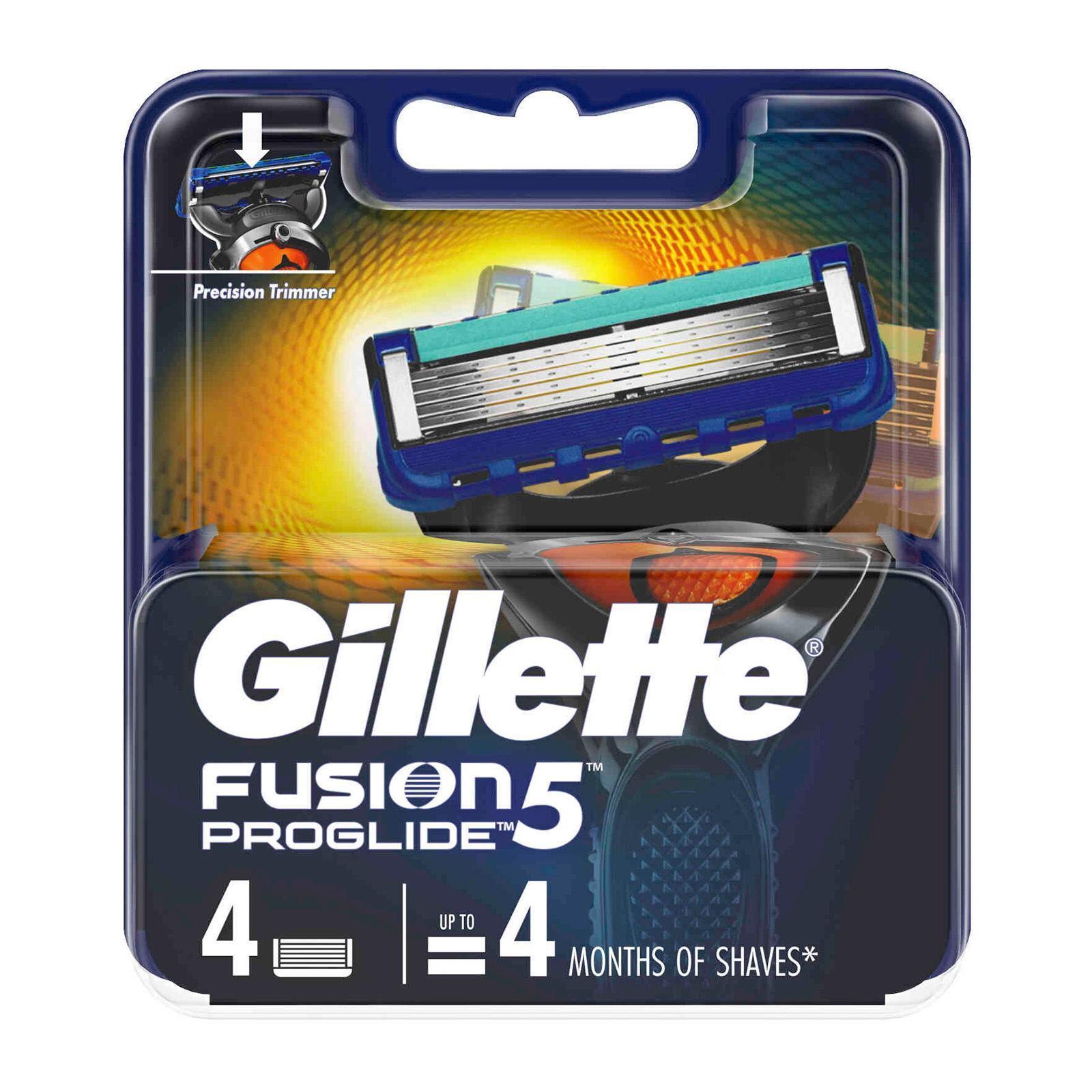 Gillette Fusion ProGlide Manual Razor Cartridges Refill