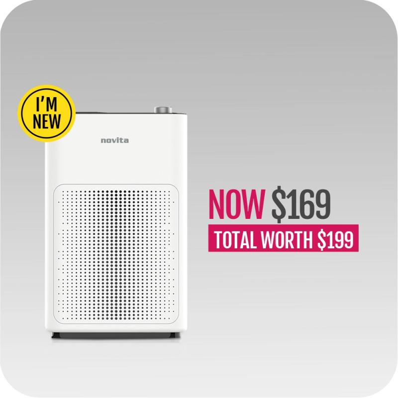 novita PuriClean™ Air Purifier NAP200 Singapore