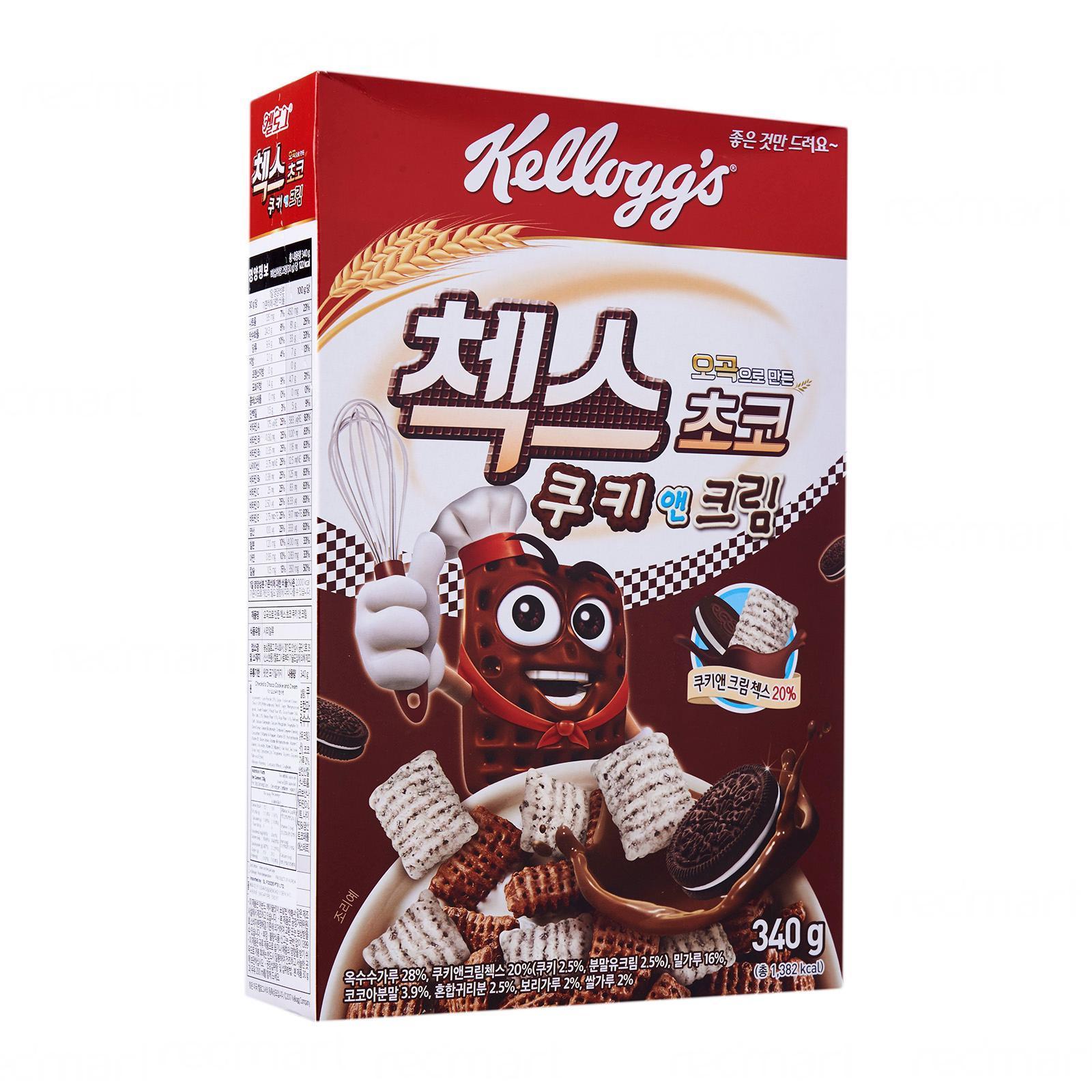 Kellogg's Check's Korean Choco Cookies N Cream