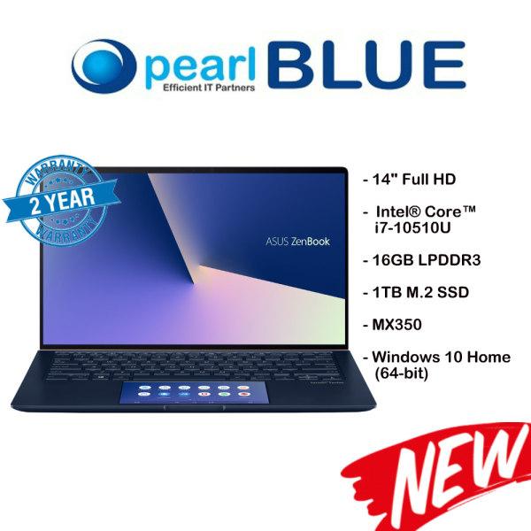ASUS ZenBook 14 UX434FQ-AI116T / i7-10510U / 16GB LPDDR3 / 1TB M.2 SSD / MX350 (Royal Blue)