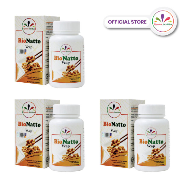 Buy BioNatto (Nattokinase NSK-SD®) - *SUPER 3-Box PROMOTION* Singapore