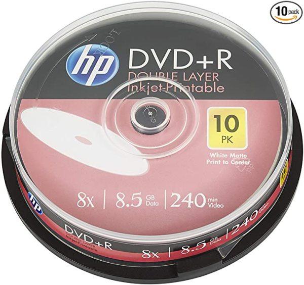 HP DVD+R DUAL LAYER (10PCS/ROLL)