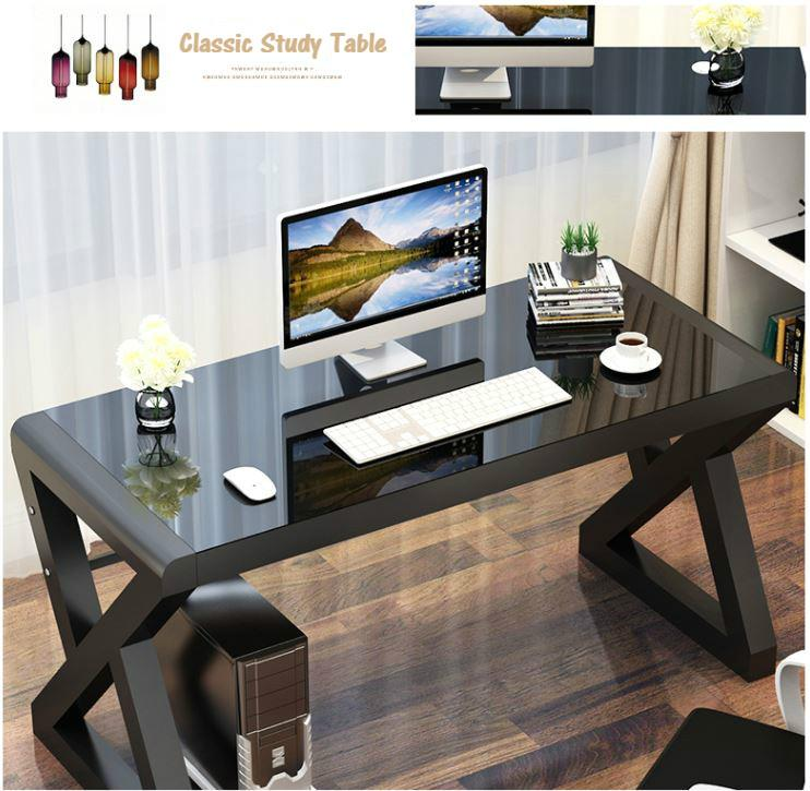 High Quality 3C Tempered Glass table top Study Table