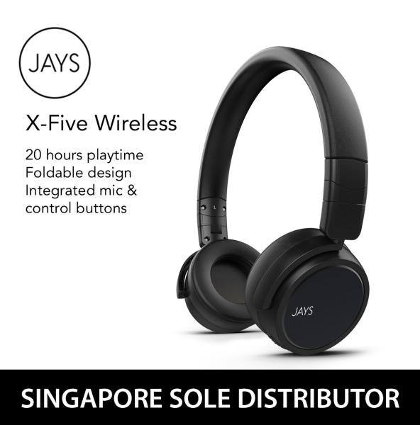 JAYS x-Five Wireless Headphones Singapore