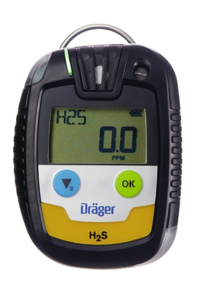 Draeger Pac 6500 H2S LC single gas detector