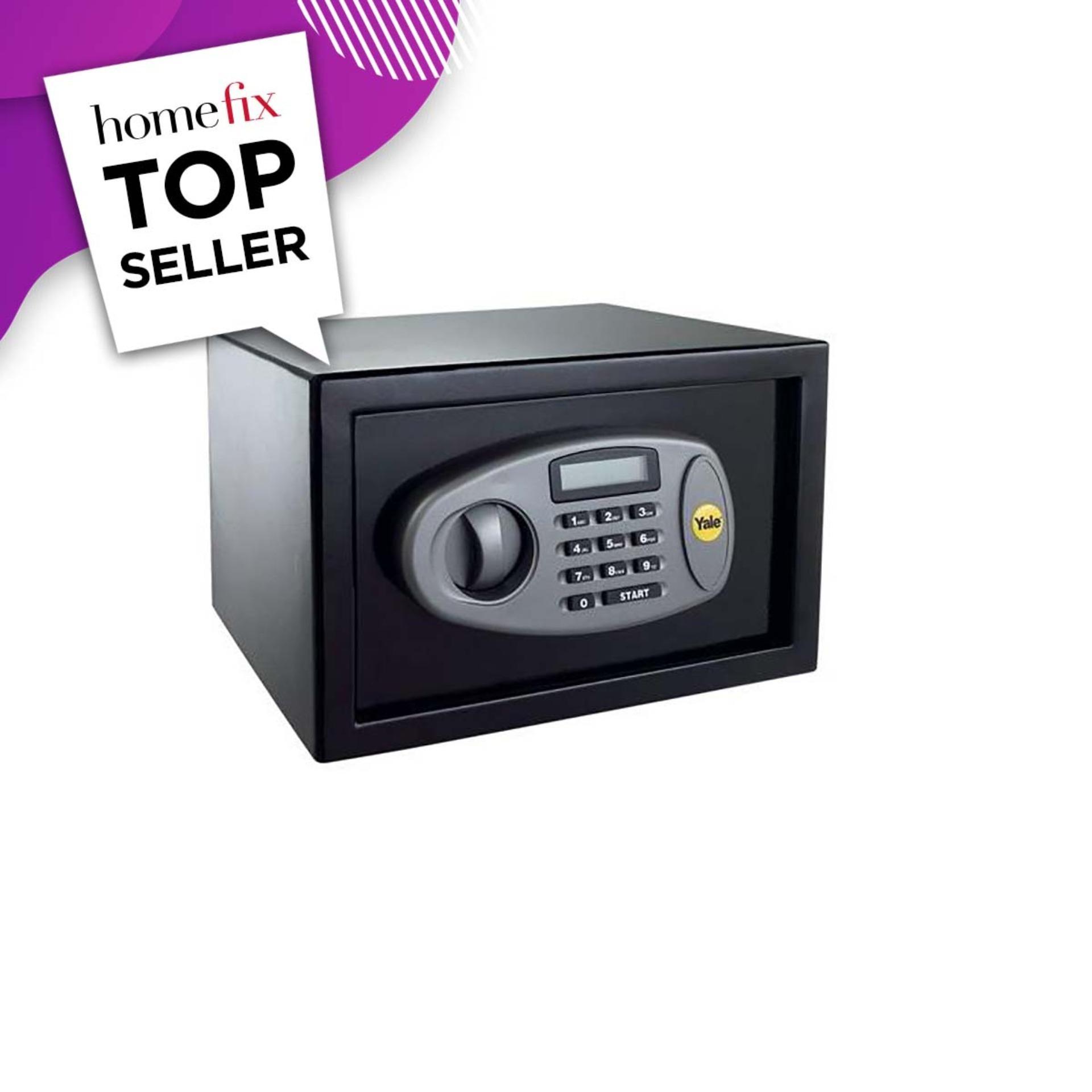 Yale YSS/250/DB2 Black Standard Medium Safe Box