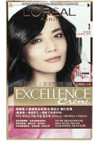 Buy [Bundle of 2] LOREAL Excellence Hair Colour - Exc. No 1 Black Singapore
