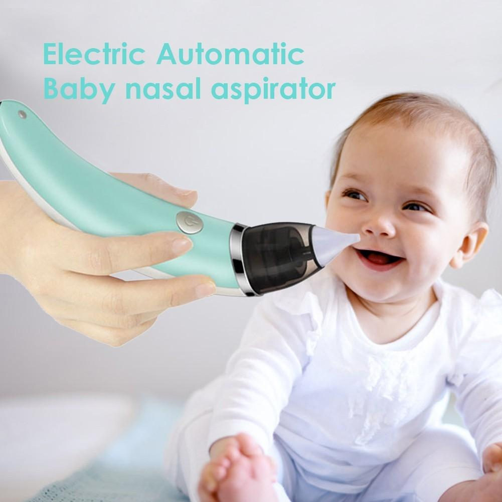 Baby Nasal Aspirator Electric Safe Hygienic Nose Cleaner Oral Snot Sucker By Acegadgets.
