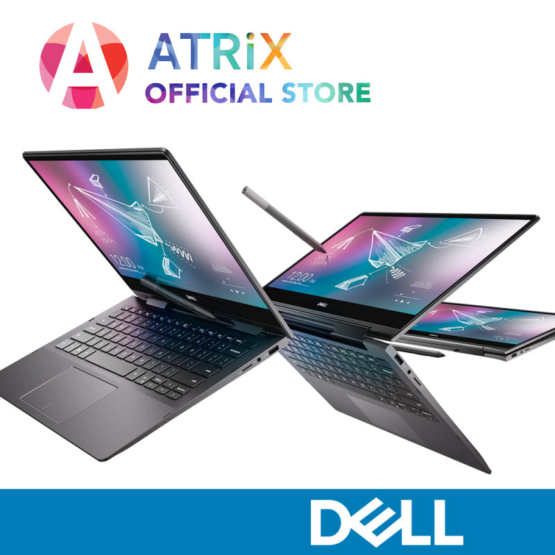 【Same Day Delivery】DELL Inspiron 13 7000 2-in-1 (7300) | 13.3 UHD 4K Touch | i7-10510U | 16GB RAM | 32GB Optane with 512GB PCIe SSD | Wifi 6 AX | 2Y Dell Onsite Warranty | Inspiron 7300 7391