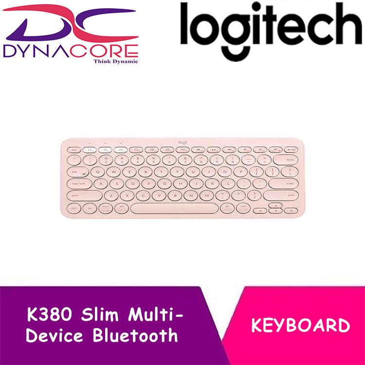 DYNACORE - LOGITECH K380 MULTI-DEVICE BLUETOOTH KB ROSE
