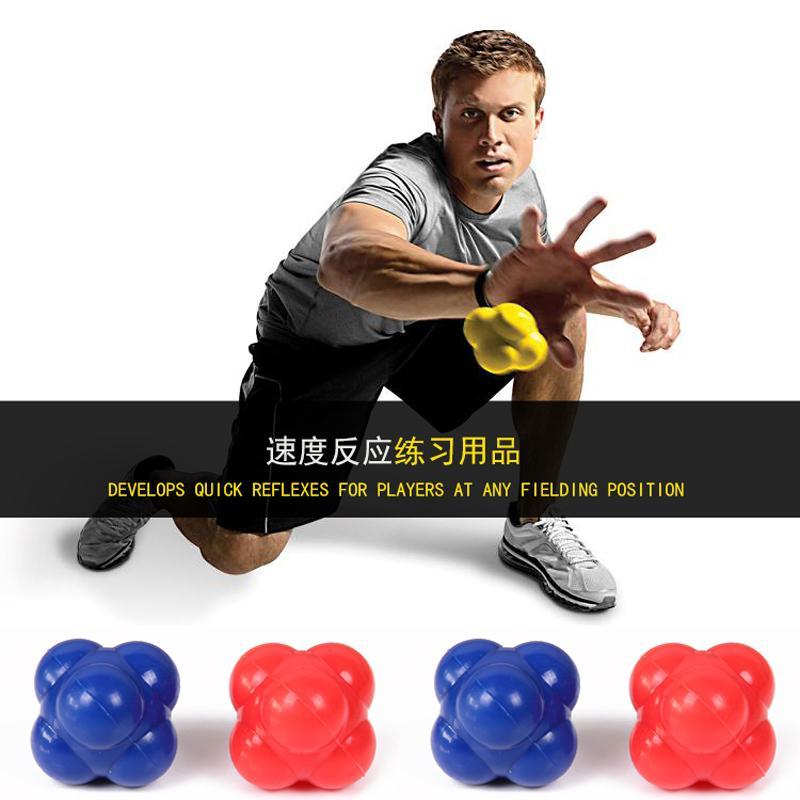 Hexagon Agile Reaction Ball Direction Ball Sensitive Ball Agile Training Tennis Ping Pong Multi-Directional Bouncing Ball By Taobao Collection.
