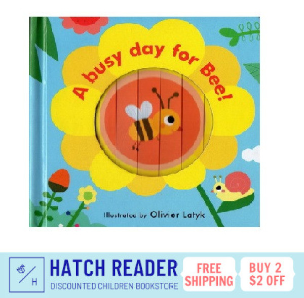 [SG Stock] Little Faces: A Busy Day for Bee!  INTERACTIVE english story book for children child kids baby 0 1 2 3 years old sensory play flash card picture
