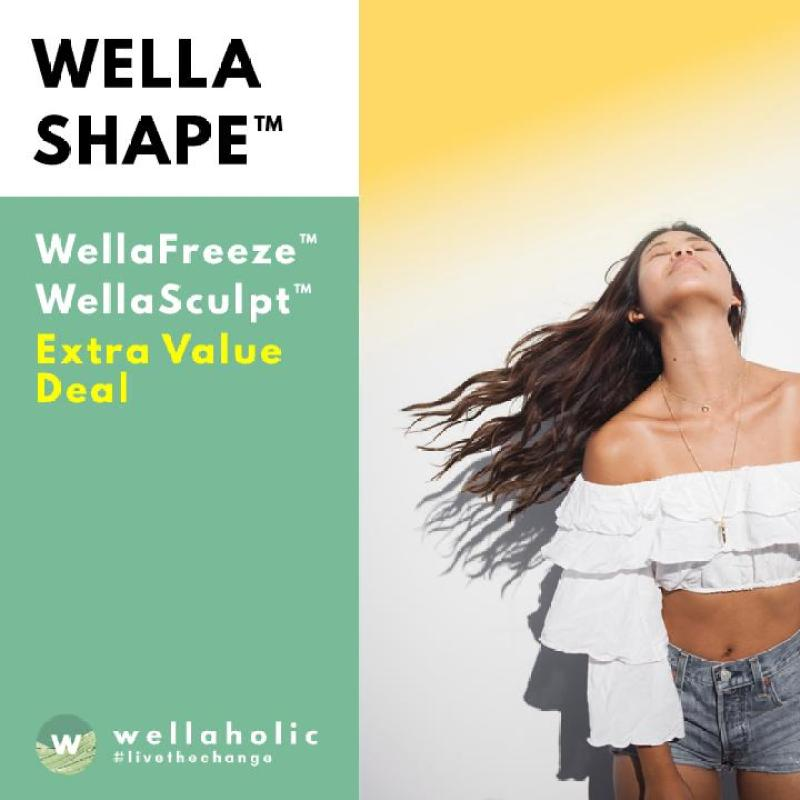 Buy WellaShape™ Body Contouring Treatment (6 Sessions) Singapore