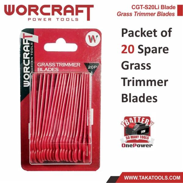 Worcraft CGT Grass Trimmer - Nylon Blade