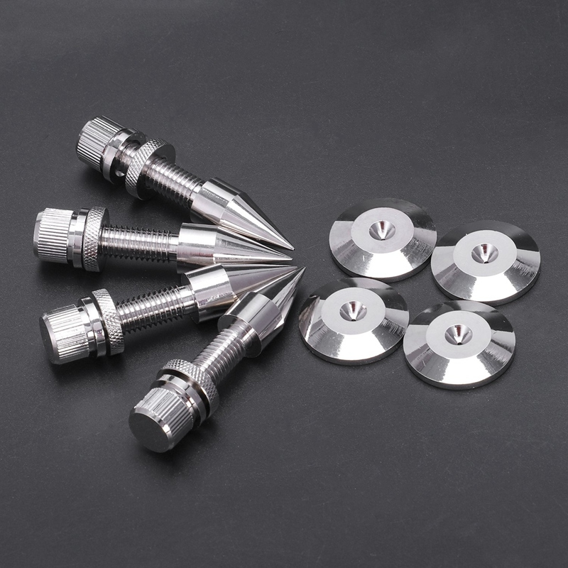 4 Pcs Speaker Spike Isolation Spikes Stand Foot Hifi Speaker Shockproof Cone Base Pads Malaysia