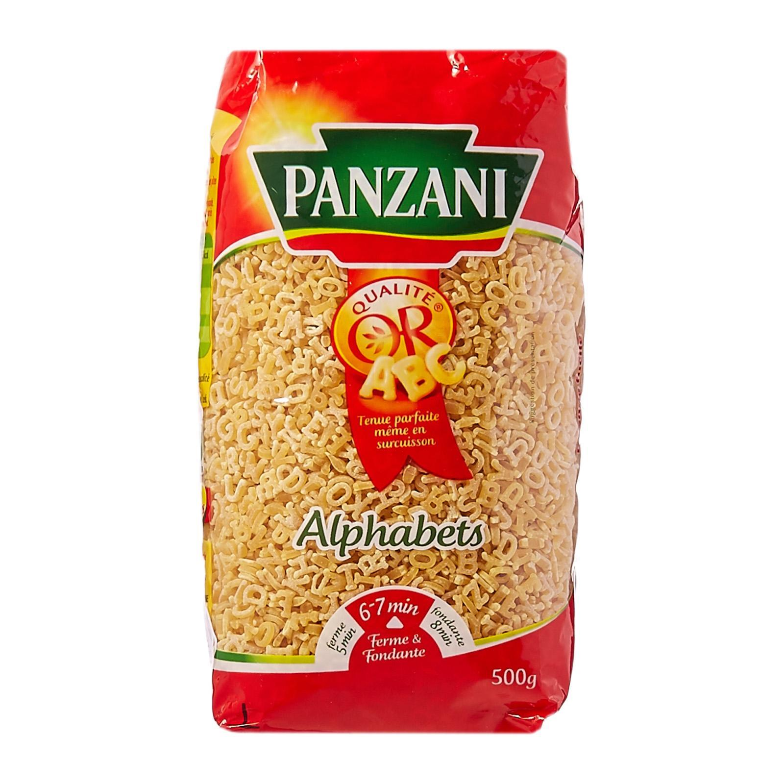 Panzani Alphabet Pasta - By Le Petit Depot By Redmart.