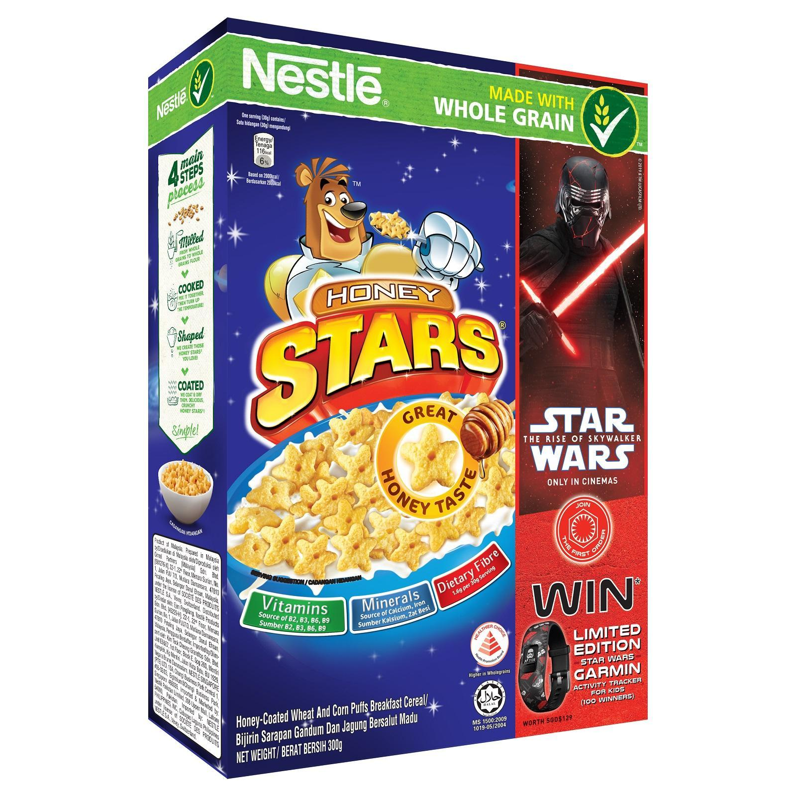 Nestle Honey Stars Cereal Star Wars Promo