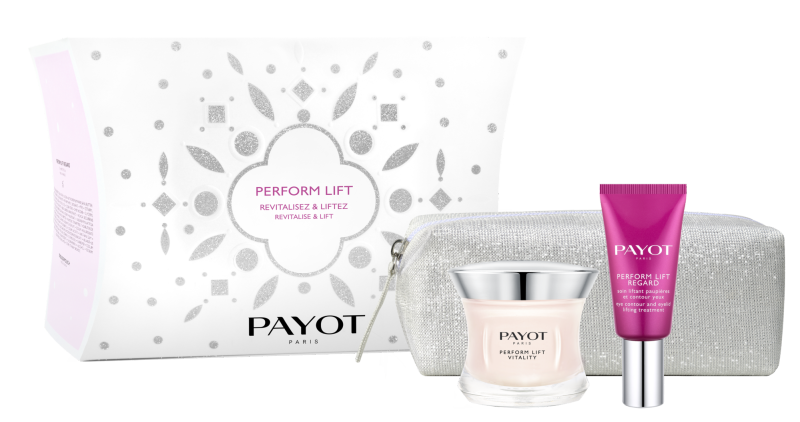 Buy PAYOT Perform Lift Rivitalise Lift Set (1 x Perform Lift Vitality 50ml Face Cream + 1 x Perform Lift Regard 15ml Eye Cream + 1 x Limited Edition Pouch) Singapore